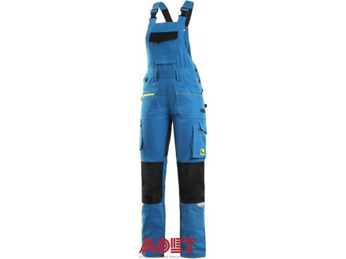 pracovne nohavice cxs stretch s naprsenkou damske 103002944000