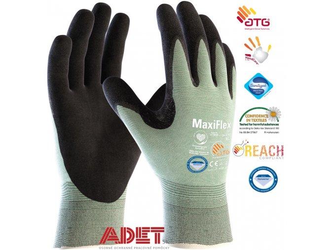 pracovne rukavice atg maxiflex cut 346743 dynema diamond