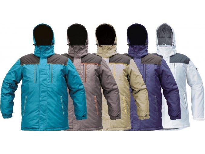pracovna bunda zimna cerva cremorne 03310002
