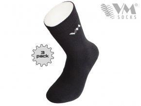 Bavlněné pracovní froté ponožky (Velikost 43-46)