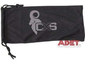 CXS vrecko na okuliare, čierne