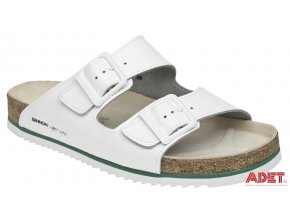bennon white horse slipper Z60020 front 3