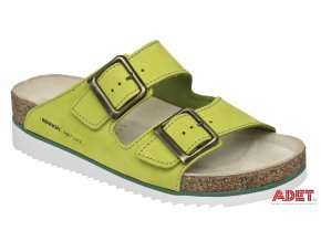 bennon green cobra heel slipper Z60029 front 3