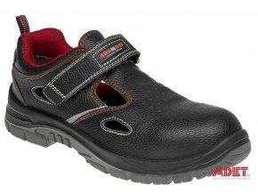 pracovna obuv adamant non metallic s1 sandal C21012 front 3