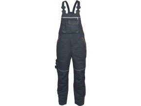 pracovne nohavice s naprsenkou cerva 03020331 KNOXFIELD BIBPANTS red 2