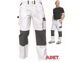 pracovne nohavice do pasa cerva 03020251 LYDDEN pants white 1