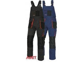 pracovne nohavice s naprsenkou cerva 03020034 EMERTON bib pants blue 1