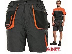 pracovne kratasy cerva 03100003 EMERTON shorts black 1