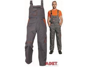 pracovne nohavice s naprsenkou cerva 03020024 DESMAN bibpants 2