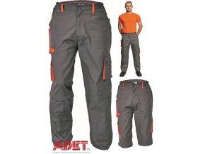 pracovne nohavice do pasa 2v1 cerva 03020026 DESMAN DETACHABLE PANTS 2