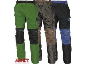 nohavice pracovne do pasa cerva 03020004 STANMORE pants blue 1