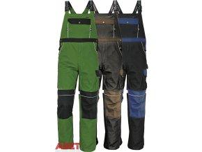 pracovne nohavice s naprsenkou cerva 03020003 STANMORE bib pants blue 1