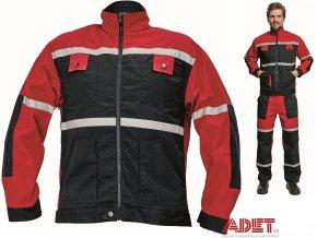 bunda pracovna cerva 03010159 TAYRA jacket 2