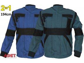 bluza pracovna cerva 03010210 MAX jacket blue black 1