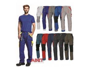 nohavice pracovne do pasa cerva 03020144 MAX pants 1