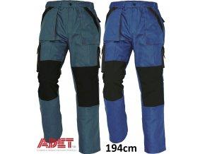 nohavice pracovne do pasa cerva 03020144 MAX pants green black 1