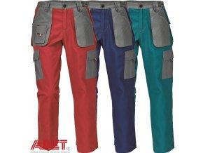 nohavice pracovne do pasa cerva 03020324 MAX EVO LADY pants green 1