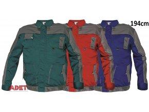 bunda pracovna cerva 03010289 MAX EVOLUTION jacket blue 1