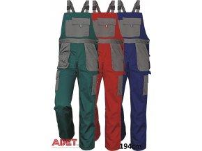 nohavice pracovne s naprsenkou 03020192 MAX EVOLUTION bibpants blue 1