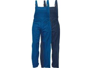 pracovne nohavice s naprsenkou cerva 03020222 UDO BE 01 006 3