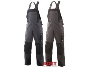 pracovne nohavice s naprsenkou cxs sirius TRISTAN 1030001