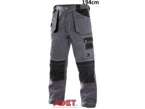 pracovne nohavice do pasa cxs orion TEODOR 1020015710 sedo cierne predlzene