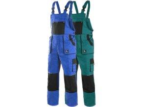 pracovne nohavice s naprsenkou cxs robin predlzene 1030007