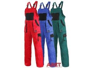pracovne nohavice s naprsenkou cxs sabina damske 1030008