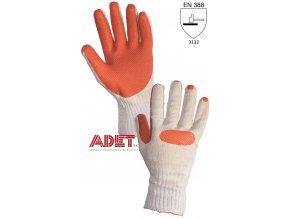 pracovne rukavice cxs blanche latexove 342000310200