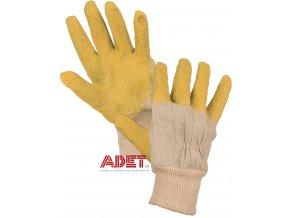 pracovne rukavice cxs deta latexove 342000510110