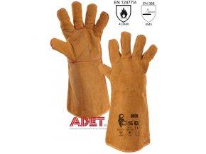 pracovne rukavice zvaracske cxs amon 361000720011