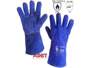 pracovne rukavice zvaracske cxs paton blue 361000260000