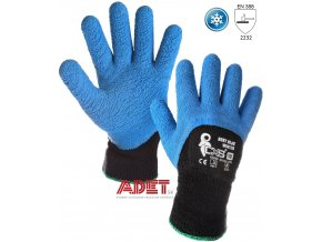 pracovne rukavice cxs zimne roxy blue winter 370002340010