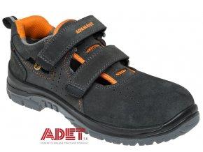 pracovna obuv adamant tobler s1 esd sandal c81015 front
