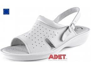 pracovna obuv cxs white and work lime 253000710000