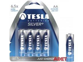 baterie tesla aa silver+ 612102700000