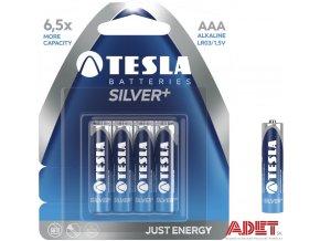 baterie tesla aaa silver+ 612102800000