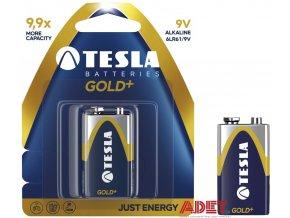 baterie tesla 9v gold+ 612102900000