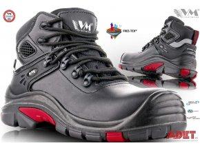 pracovna obuv vm dallas 5430 s3