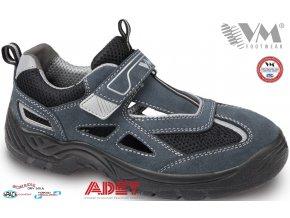pracovna obuv vm amsterdam 2865 sede