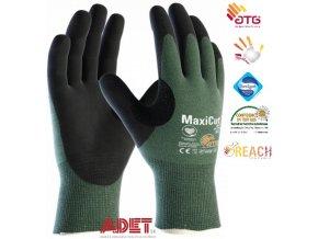 pracovne rukavice atg maxicut oil 44 304