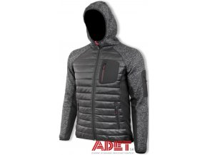 pracovna bunda promacher hybris jacket grey black p90003 001