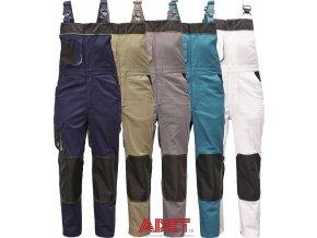 pracovne nohavice cerva cremorne s naprsenkou 03020403