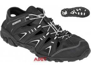 pracovna obuv z style bennon oregon black sandal z90024 001