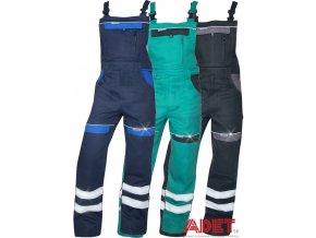 pracovne nohavice ardon cool trend na traky reflexne