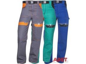 pracovne nohavice ardon cool trend do pasa damske