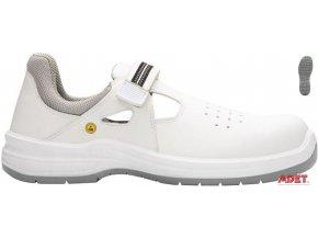 pracovna obuv ardon arsan white s1 esd g3310