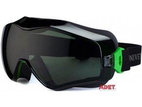 pracovne okuliare ardon univet 6x3 zelene e4077