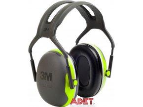 muslovy chranic sluchu 3m peltor x4a gb c3045