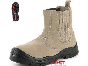 bezpecnostna clenkova obuv cxs work kale s1